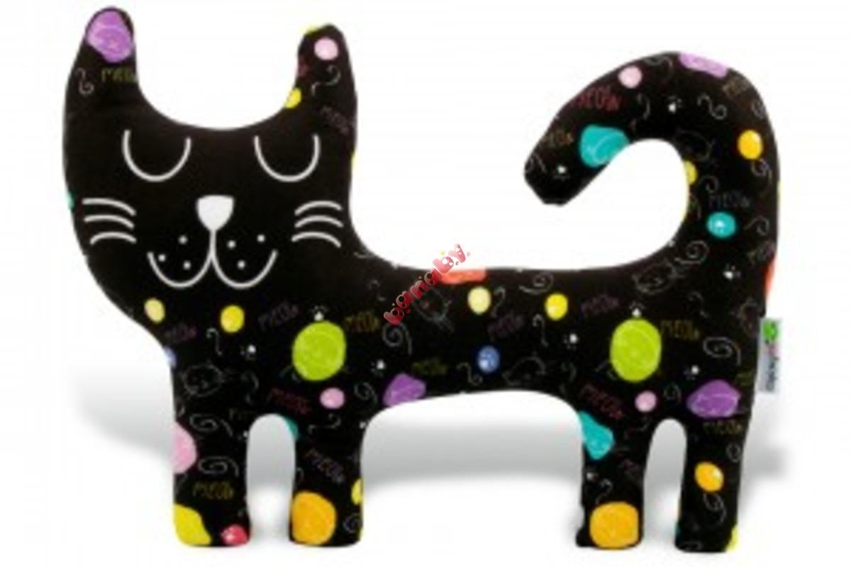 Čierna mačička pics len