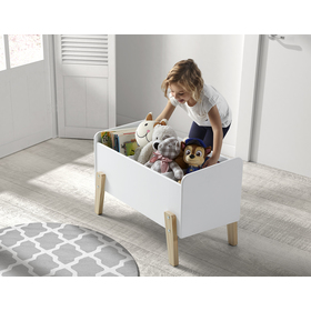 Úložný box Kiddy biely, VIPACK FURNITURE