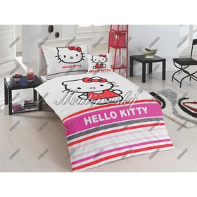 Obliečky Hello Kitty Stripe