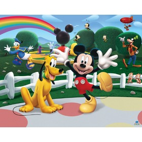 3D tapeta - Mickey Clubhouse, Walltastic, Mickey Mouse