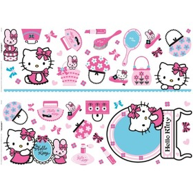 Samolepky - Hello Kitty, Decofun, Hello Kitty