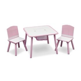 686d9c44e5f3 Detský stôl so stoličkami - natural - banaby.sk