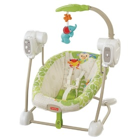 Fisher Price Rainforest hojdačka a sedátko v jednom, Fisher Price