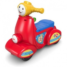 Fisher Price Smart Stages - hovoriaci scooter, Fisher Price