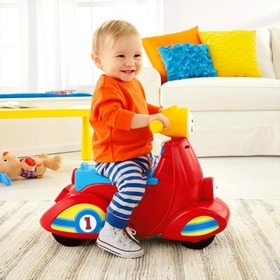 Fisher Price Smart Stages hovoriaci scooter, Fisher Price