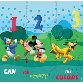 Penové puzzle koberec, TodaCarpets, Mickey mouse Clubhouse