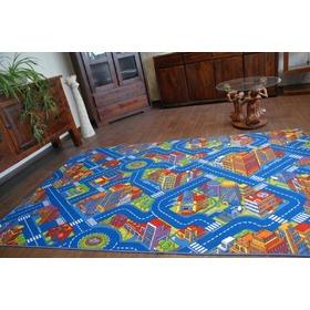 ea29916e5301 ... Detský koberec BIG CITY - modrý
