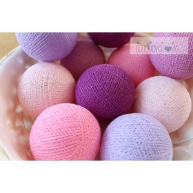 Cotton Balls - Light Berry, cottonovelove