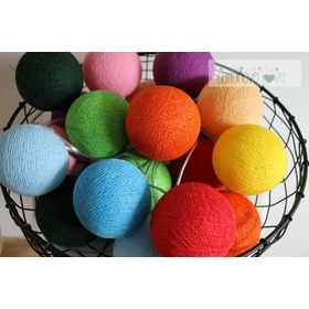 Cotton Balls - multicolor, cottonovelove