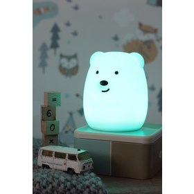 Lampa LED PUFI - Medveď, cotton love