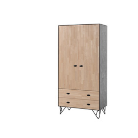 Skriňa 2-dverová William, VIPACK FURNITURE